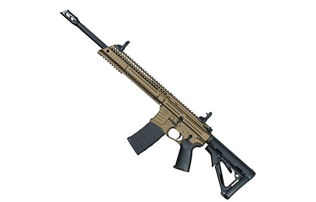 Yankee Hill Machine Billet Model 57 Carbine Burnt Bronze left