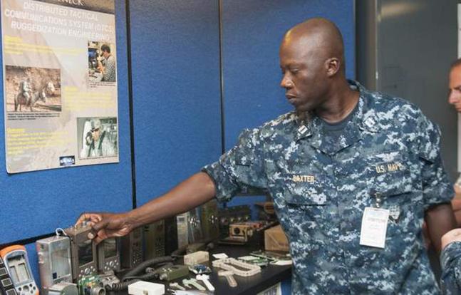 3D printing Navy parts