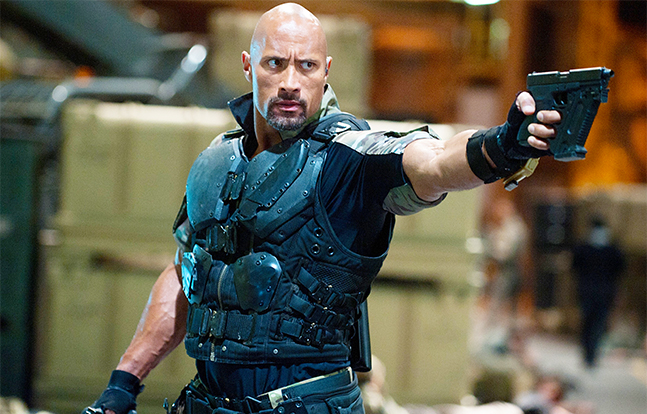 Armed For Entertainment G.I. Joe Retaliation the Rock