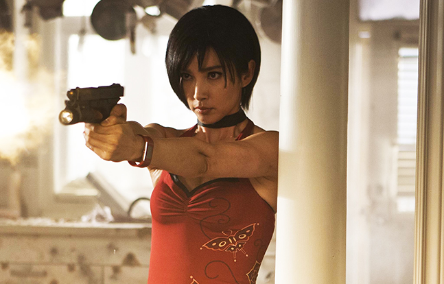 Armed For Entertainment Resident Evil Retribution