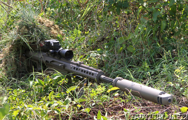 Barrett QDL Suppressor field