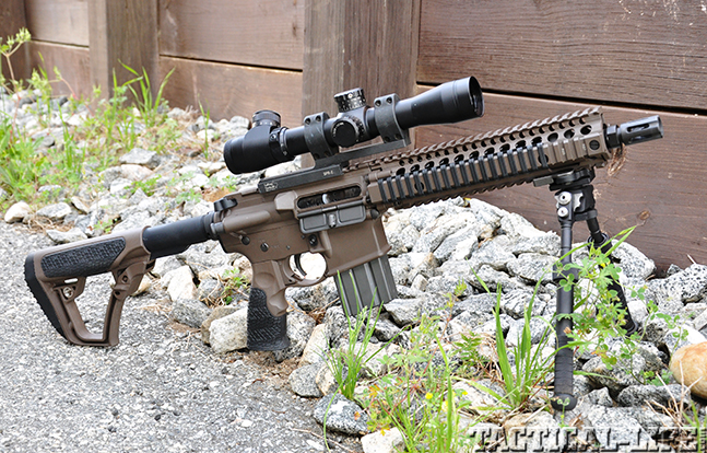exclusive Daniel Defense MK18 feature