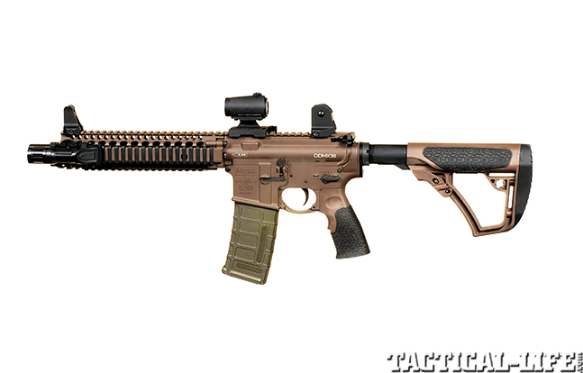 exclusive Daniel Defense MK18 left