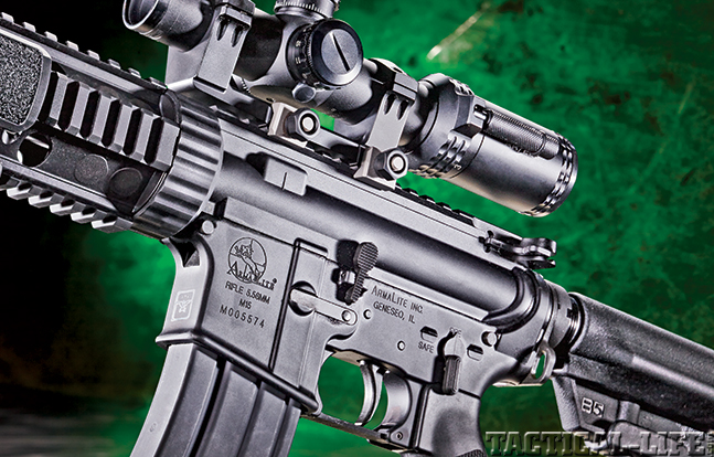 Gun Review Armalite M-15TBN side