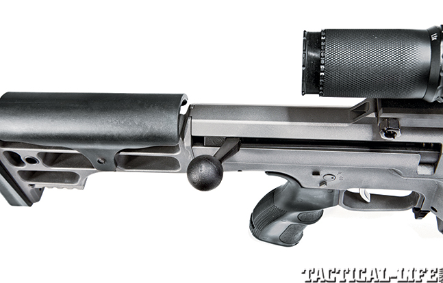 Gun Review Barrett 98B Tactical bolt