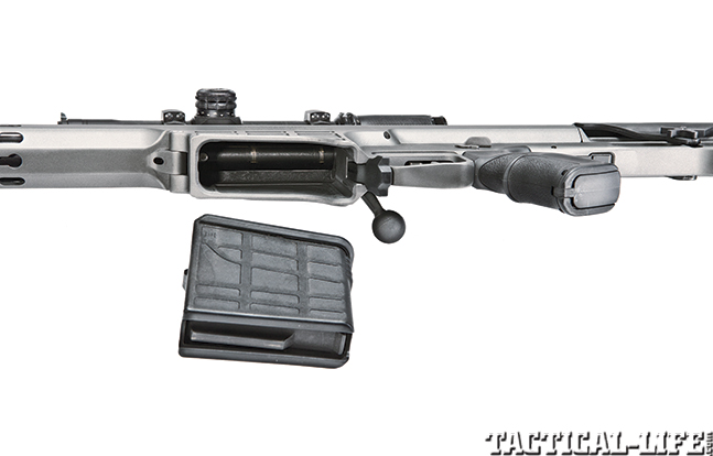 Gun Review Barrett 98B Tactical mag