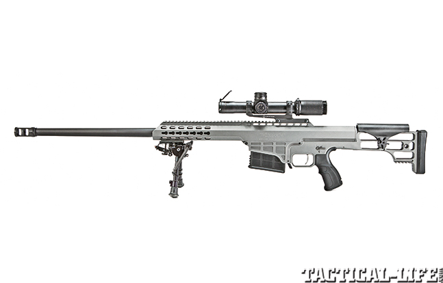 Gun Review Barrett 98B Tactical solo