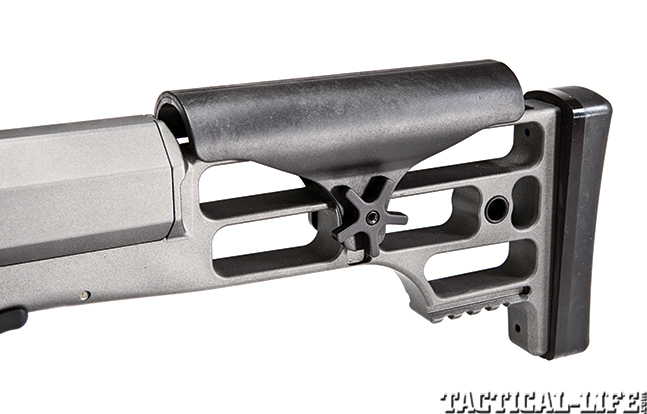 Gun Review Barrett 98B Tactical stock