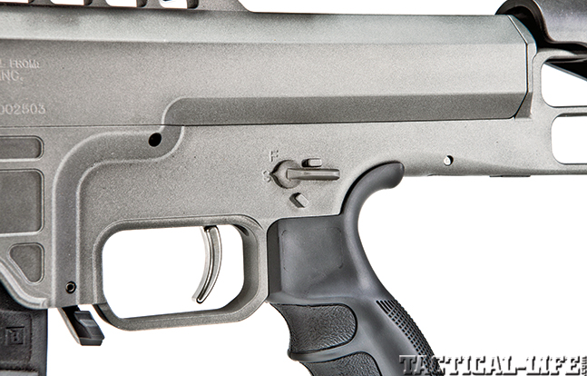 Gun Review Barrett 98B Tactical trigger