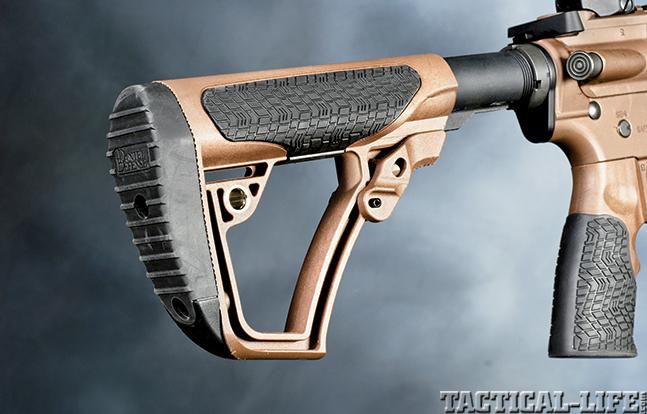 Gun Review Daniel Defense MK18 stock