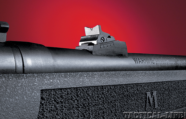 Gun Review Mossberg MVP Patrol rear sight