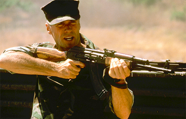 Heartbreak Ridge Hollywood AK-47