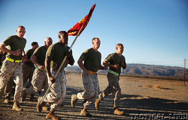 gunny running flag
