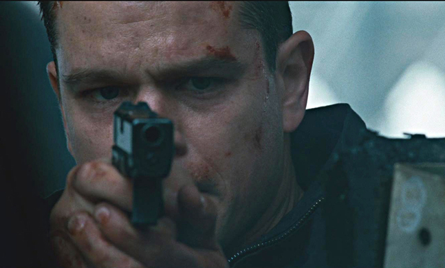 Hollywood Firepower Bourne Ultimatum