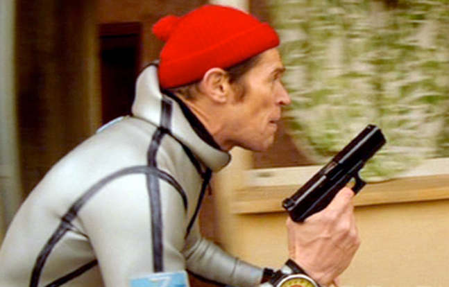 Hollywood Glocks The Life Aquatic with Steve Zissou Defoe