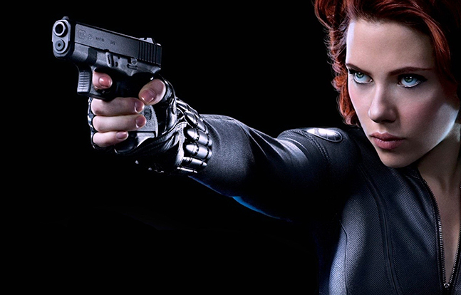 GLOCK's Hollywood Superheroes Black Widow