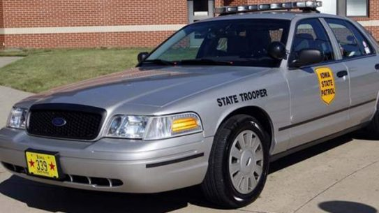 Iowa State Patrol car