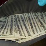 U.S. Customs Counterfeit $210,000 JFK bills