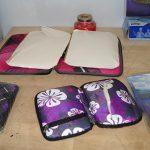 U.S. Customs Counterfeit $210,000 JFK pouches