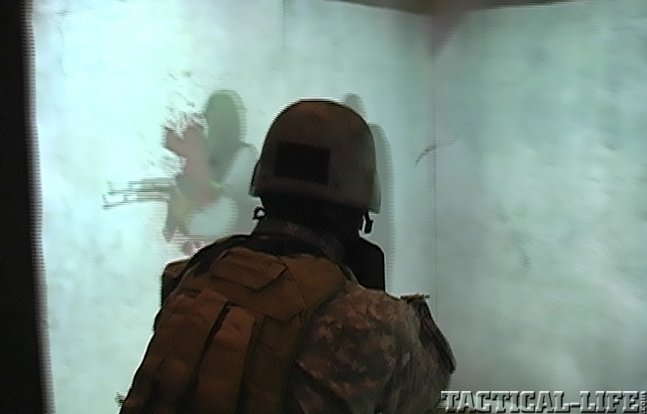 Laser Shot military