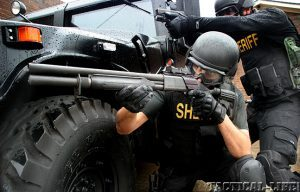 LE Shotguns SWAT lead