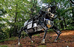 Legged Squad Support System cow Boston Dynamics