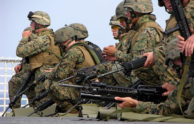 US Marines Chinese Australian Training