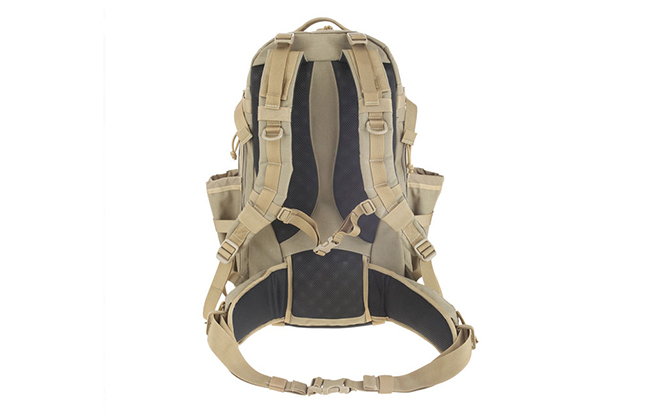 Maxpedition's Xantha Internal Frame Backpack straps
