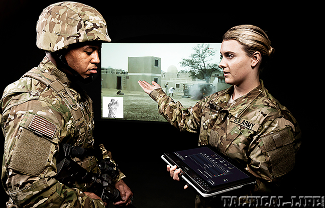 Meggitt Training Systems tablet