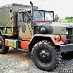 'Deuce and a Half': Multi-Mission M35 Trucks right