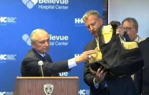 NYPD Detective shooting vest