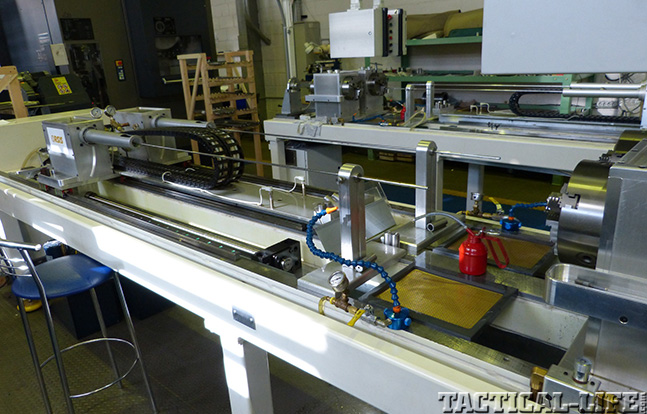 ORSIS rifling machine