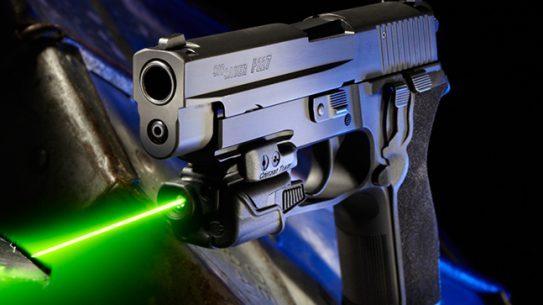 SIG SAUER P227 laser handgun