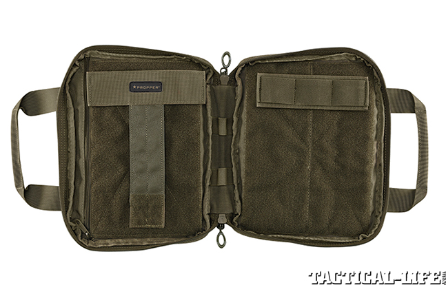 Propper 8x12 Pistol Case open