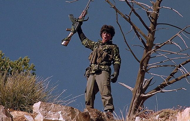 Red Dawn wolverines 1984 Hollywood AK-47