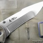 Review SOG Kiku Knives blade