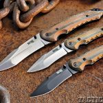 Review SOG Kiku Knives trio
