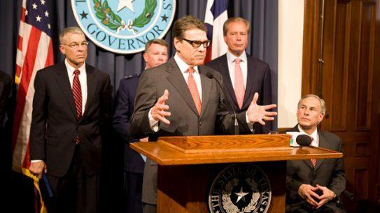 Rick Perry border