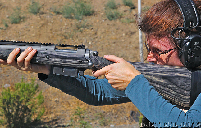 Ruger Gunsite Scout female zoom
