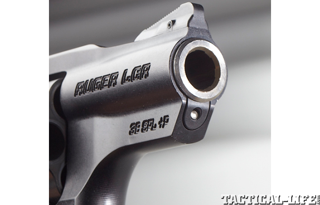 RUGER LCRx muzzle