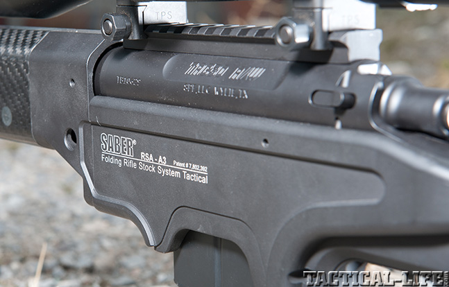 Ashbury Precision Ordnance SABER-FORSST chassis stock action