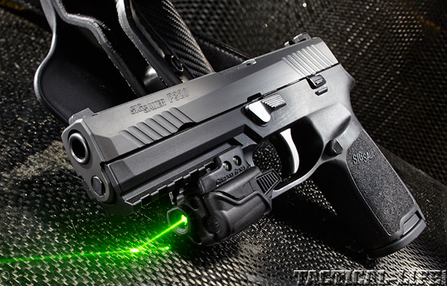 SIG SAUER P320 9mm lead