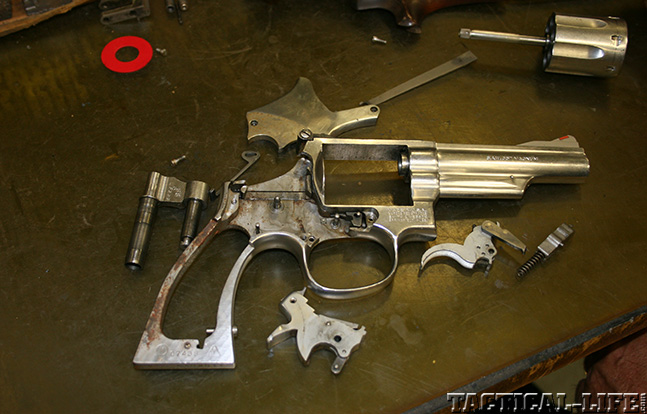 Smith and Wesson 66 gunsmith apart