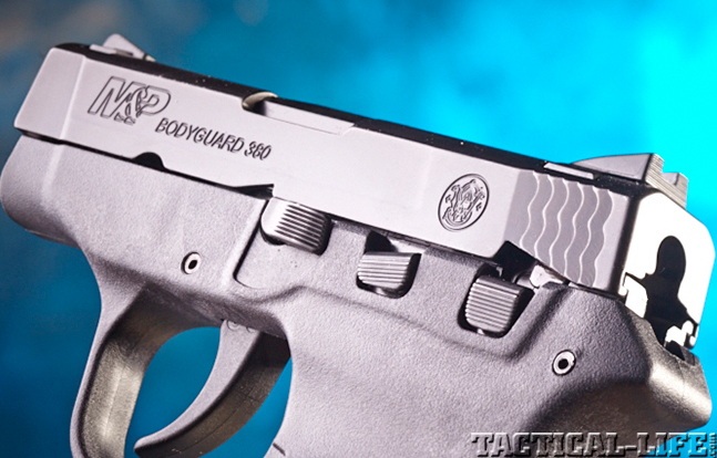 Smith & Wesson M&P Bodyguard 380 controls