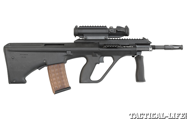 Steyr AUG/A3 SA bullpup right
