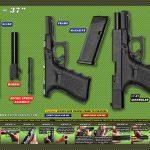 Tactical Atlas green glock