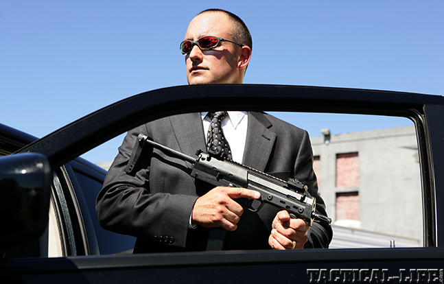 VIP Protection firearm