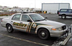 Yakima County Sheriff's Office car