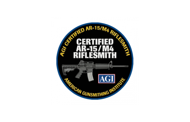 AGIAR-15 M4 Riflesmith Course