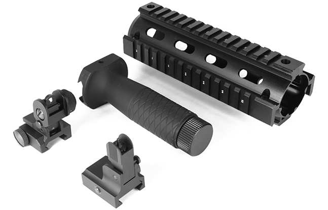 Aim Sports AR/M4 Combo Kit 25 lead AR Rails